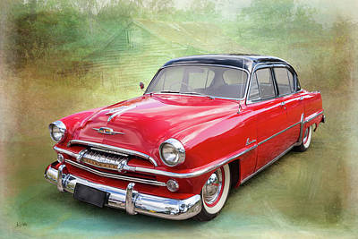 Photograph - 1954 Plymouth by Keith Hawley