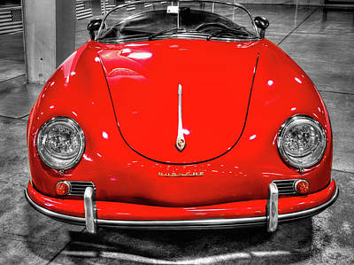 Huahin Photograph - 1954 Porsche 356 Speedster  V7 by John Straton