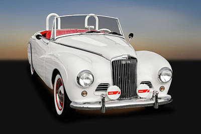 Photograph - 1954 Sunbeam Supreme Mk IIi Drophead Coupe Convertible  -  54sunbsupremel9399 by Frank J Benz