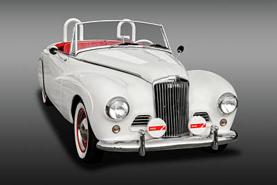 Photograph - 1954 Sunbeam Supreme Mk IIi Drophead Coupe Convertible  -  54sunbsupfa9399 by Frank J Benz