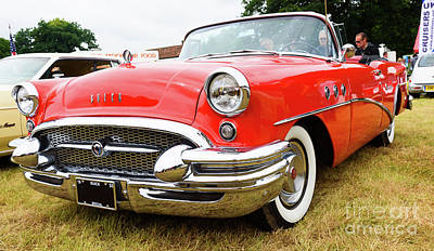 Photograph - 1955 Buick Special by Colin Rayner