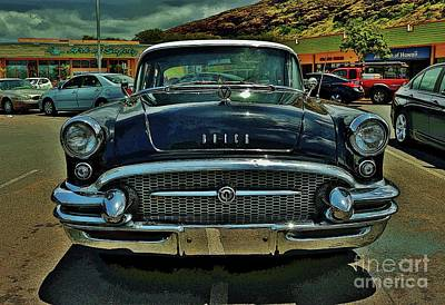 Photograph - 1955 Buick Special II by Craig Wood