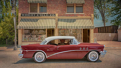 Photograph - 1955 Buick Special by Susan Rissi Tregoning
