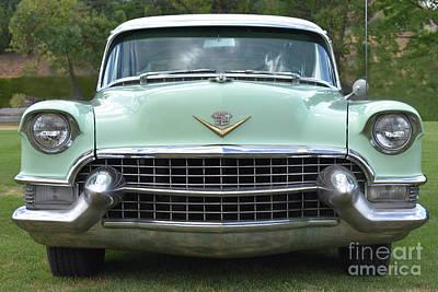 1955 Cadillac Photograph - 1955 Cadillac Series 62 by Malanda Warner