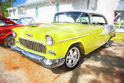 Photograph - 1955 Chevrolet Bel Air 002 by Rich Franco