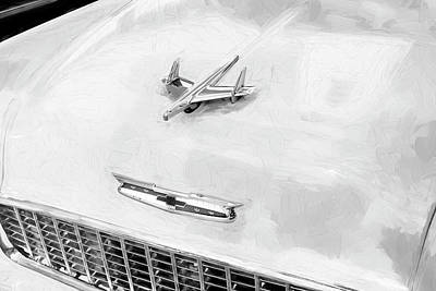 Photograph - 1955 Chevrolet Bel Air 005 by Rich Franco