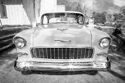 Photograph - 1955 Chevrolet Bel Air 007 by Rich Franco