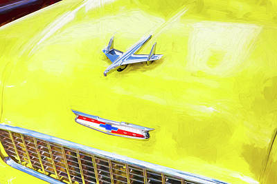 Photograph - 1955 Chevrolet Bel Air 008 by Rich Franco