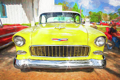 Photograph - 1955 Chevrolet Bel Air 009 by Rich Franco
