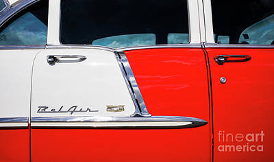 Photograph - 1955 Chevrolet Style by Tim Gainey