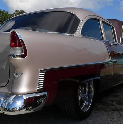 Photograph - 1955 Chevy Bel-air Two Tone by Kathy K McClellan