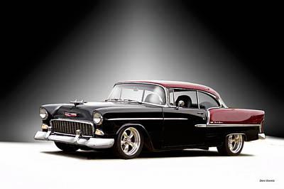 Chris Walter Rock N Roll - 1955 Chvrolet Bel Air Nor Cal Style II by Dave Koontz