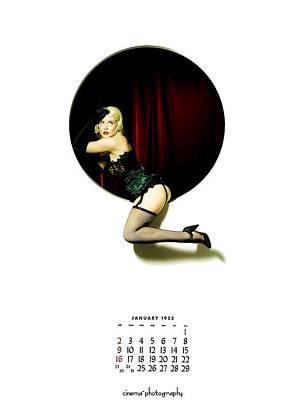 Burlesque Photograph - 1955 by Cinema Photography