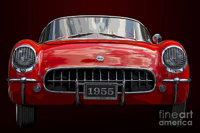 Photograph - 1955 Corvette by Dennis Hedberg