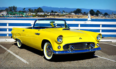 Photograph - 1955 Ford Thunderbird by Glenn McCarthy Art and Photography