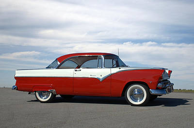 Photograph - 1955 Ford Victoria by Tim McCullough