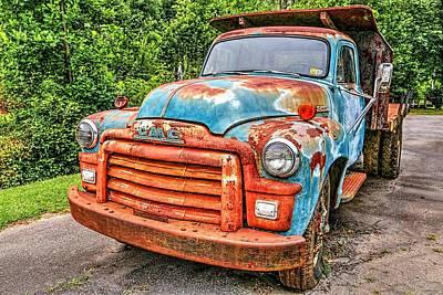 Photograph - 1955 Gmc Truck by Carol Montoya