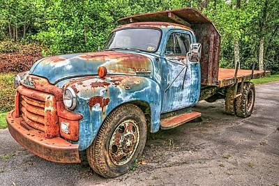 Photograph - 1955 Gmc Southern Truck  by Carol Montoya