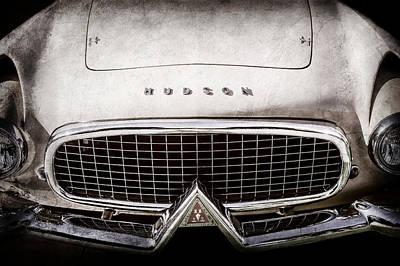 Photograph - 1955 Hudson Italia Grille Emblem -0214ac by Jill Reger