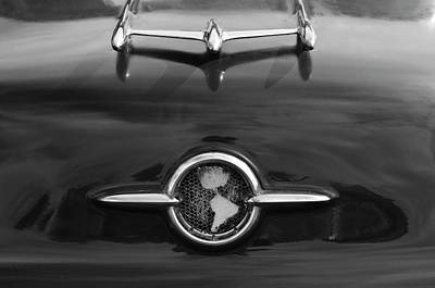 Photograph - 1955 Oldsmobile Holiday 88 Hood Ornament 2 by Jill Reger