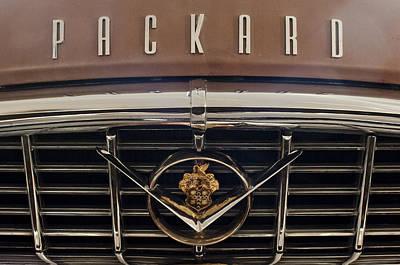 Photograph - 1955 Packard 400 Hood Ornament 2 by Jill Reger