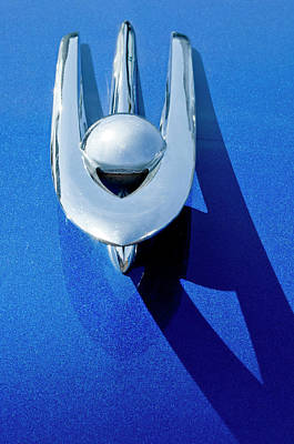 Hoodie Photograph - 1955 Packard Clipper Hood Ornament 4 by Jill Reger