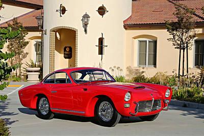 Photograph - 1955 Pegaso Tipo Z-102b Saoutchik Coupe  by Steve Natale