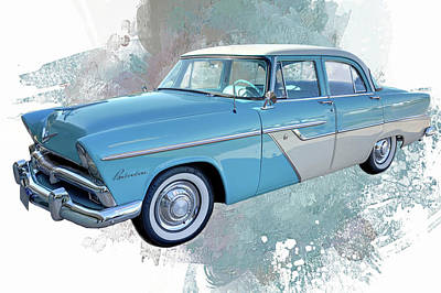 Photograph - 1955 Plymouth Belvedere by Donna Kennedy