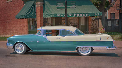 Photograph - 1955 Pontiac Star Chief by Susan Rissi Tregoning