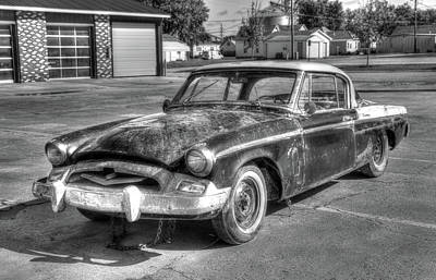 Photograph - 1955 Studebaker President by J Laughlin