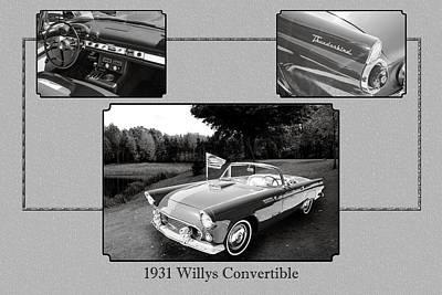Photograph - 1955 Thunderbird Photograph Fine Art Prints 1267.01 by M K Miller