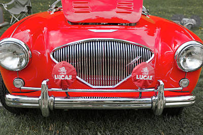 Photograph - 1956 Austin Healey 100 M by Jack R Perry