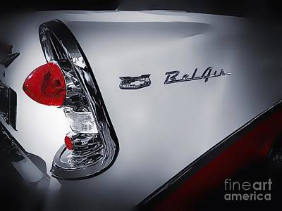 Photograph - 1956 Belair by Paul Wilford