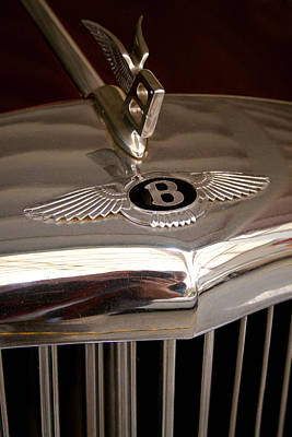 Photograph - 1956 Bentley S1 by David Patterson