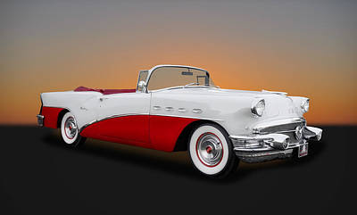 Photograph - 1956 Buick Century Convertible  -  Bu1 by Frank J Benz