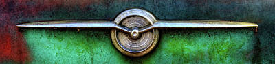 Photograph - 1956 Buick Special Emblem by Greg Mimbs