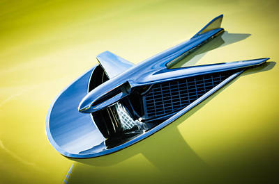 Photograph - 1956 Buick Special Hood Ornament -0758c by Jill Reger
