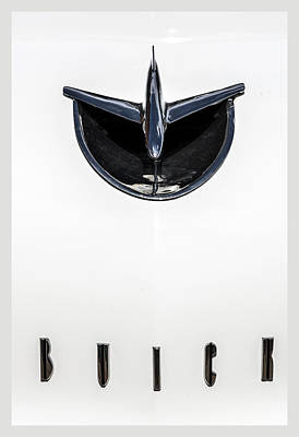 Photograph - 1956 Buick Special Hood Ortiment by Lou Novick