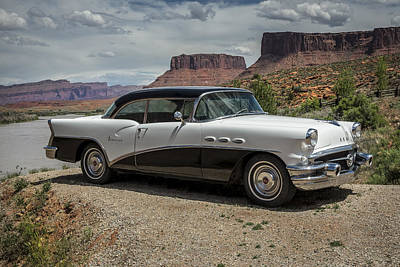 Photograph - 1956 Buick Special by Lou Novick