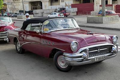 Photograph - 1956 Buick Super by Arthur Dodd