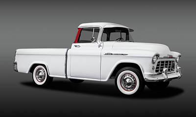 Photograph - 1956 Chevrolet Cameo Pickup Truck  -  1956chevycameopickuptruckfa173585 by Frank J Benz