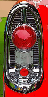 Digital Art - 1956 Chevy by Gary Grayson