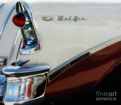 Photograph - 1956 Chevy Nomad  by Steven Digman