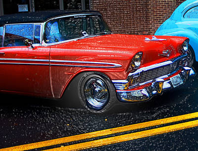 Photograph - 1956 Chevy Ragtop by Bill Jonscher
