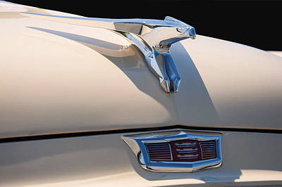 Digital Art - 1956 Chrysler Soaring Falcon Hood Ornament by Chris Flees