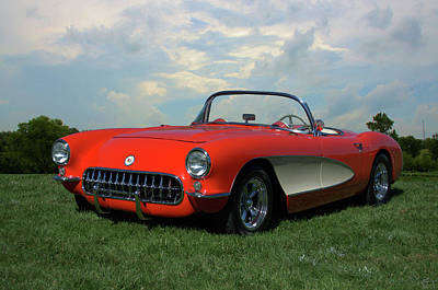 Photograph - 1956 Corvette by Tim McCullough
