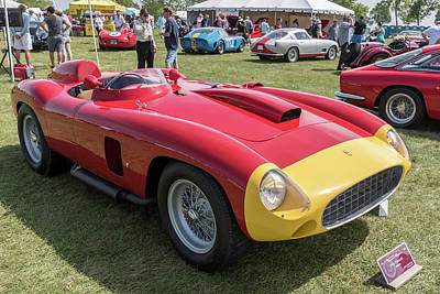 Photograph - 1956 Ferrari 290mm - 3 by Randy Scherkenbach