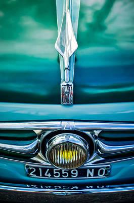 Photograph - 1956 Fiat Hood Ornament by Jill Reger