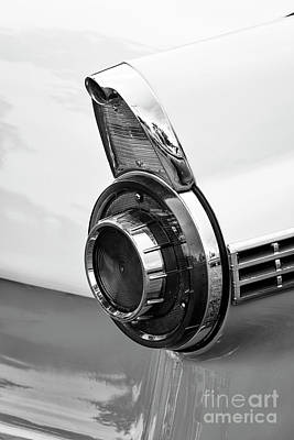 Photograph - 1956 Ford Taillight by Dennis Hedberg