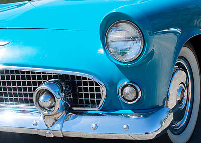 Photograph - 1956 Ford Thunderbird 32016 by Rospotte Photography